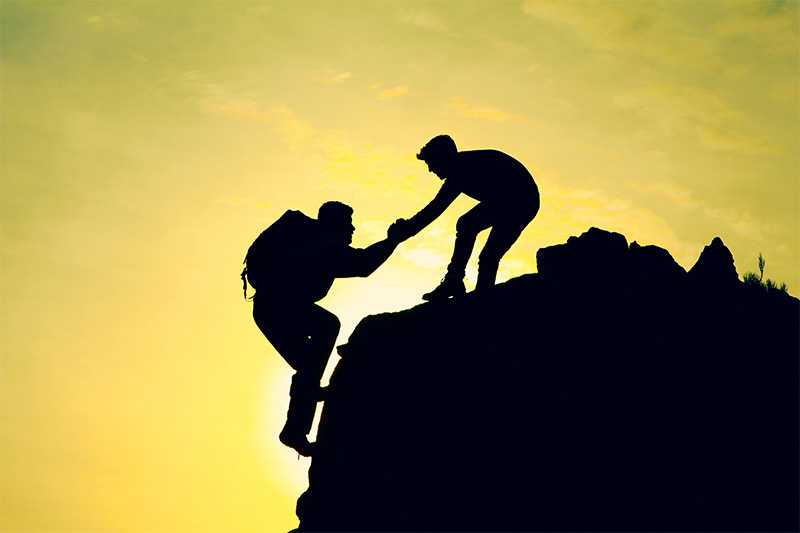 Coaching and support in life and business.