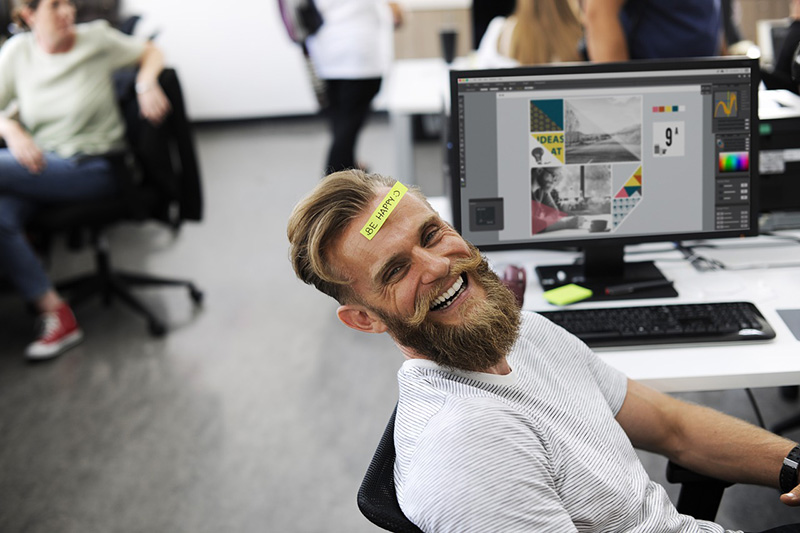 Happy employees are productive employees.